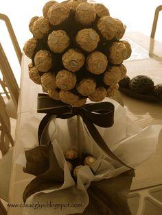 Topiario Ferrero Rocher