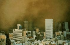 Today in Australian History - February - Melbourne sun disappears. 1983 - A vast dust storm sweeps across Melbourne, Australia. Click photo for more info. Melbourne Victoria, Victoria Australia, Melbourne Australia, Australia Travel, Aboriginal History, Australian Photography, Australian Painters, Dust Storm, Top Soil