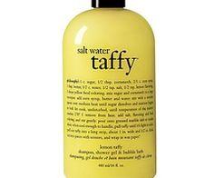 yellow salt water taffy shampoo