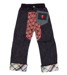 Bleep Chubba Jean - Big, Limited edition clothing for children, www.oishi-m.com