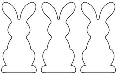 A garland of paper rabbits for Easter - Femme Actuelle Spring Bank Holiday, Diy For Kids, Crafts For Kids, Easter Templates, Easter Greeting Cards, Easter Traditions, Easter Chocolate, Gifts For Photographers, Easter Holidays