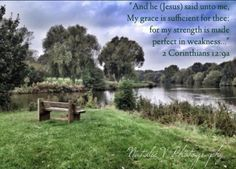 2 Corinthians.  HolyBible. NatalieVPhotography. Bible Verses of Encouragement. Find my page on Facebook. Encouraging Bible Verses, Jesus Quotes, Encouragement, Country Roads, Facebook, Sayings, Lyrics, Word Of Wisdom, Jesus Christ Quotes