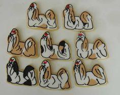 Shih Tzu cookies