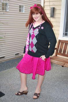 How do you dress a boy as girl for Halloween?