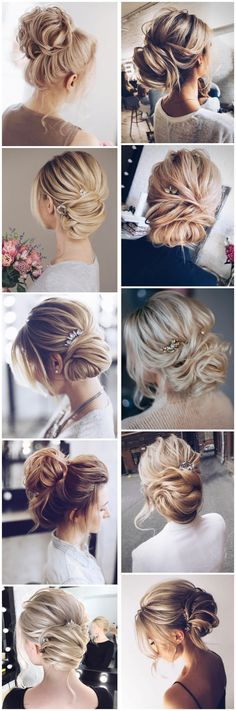 Tonyastylist Wedding Updo Hairstyles for Bride #weddings #updos #wedidngideas #weddinghairstyles