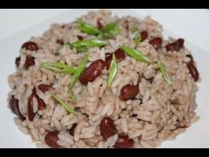 Jamaican Rice And Peas Recipe.