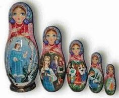 vintage nesting dolls - Google Search