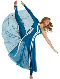 Color Guard Uniform - I don't know if it goes with next year's theme, but who cares!