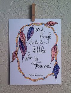 She is Fierce Dream Catcher Art Print 8x10 Tribal Prints, Art Prints, Art Quotes, Horse Quotes, Dream Catcher Art, Different Forms Of Art, Catholic Art, Pulp Art, Painted Signs