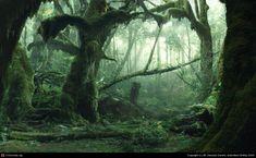 Rainforest enviroment matte painting by Lubos de Gerardo Surzin | 2D | CGSociety