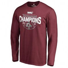 3430e39e5 New Mexico State Aggies Fanatics Branded 2017 WAC Men s Basketball  Tournament Champions Long Sleeve T-Shirt - Maroon. Basketball Equipment ·  Kids ...