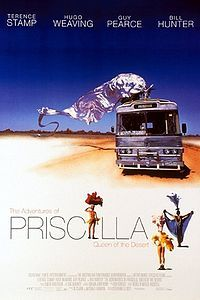 Prisicla - A Rainha do Deserto - The Adventures of Priscilla, Queen of the Desert (1994) - with Terence Stamp, Hugo Weawing e Guy Pearce.