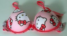 8fca612d15c2a Hello Kitty Bra by Sanrio Push-up Underwire 34A New  Sanrio  PushUpBras  Kitty