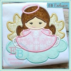 Angel Applique / this is soooooo sweeet!/ comes in various sizes