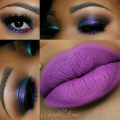 This would look good on a darker complexion!