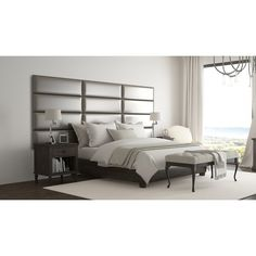 Vant Upholstered Wall Panels (Headboards) Sets of 4, Leather