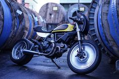 Ottonero Cafe Racer: Scramster