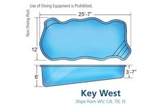 Viking Pools | Key West -Come see us at 2640 Quality Court Virginia Beach VA 23454 or Give us a call at (757) 463-0600. www.thepoolguyz.com
