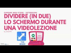 TAB RESIZE dividi lo schermo (in due) durante una videolezione Solar Energy, Solar Power, Renewable Energy, Marketing Communications, Sustainable Energy, Wind Power, Google Classroom, Energy Technology, Electrical Engineering