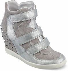 ShopStyle.com: GUESS Women's Hisalyn Wedge Sneakers $65.62