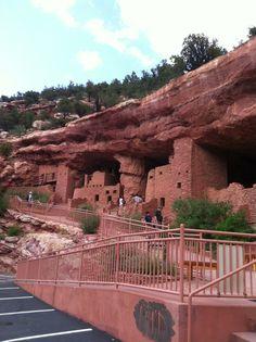 Manitou Cliff Dwellings. Manitou Springs, Colorado