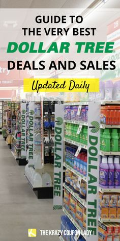 Who doesn't love Dollar Tree organization, toys, makeup finds, and home hacks? Here's the always up-to-date guide to Dollar Tree finds, sales, freebies, and rebates from the pros at The Krazy Coupon Lady. Dollar Tree locations are a great place to save money with coupons. Learn how to coupon at Dollar Tree. Find Dollar Tree coupons on KCL and bring home a haul of free brands like Airborne, Maybelline, Kleenex, Bic, and Glad. Best things to buy are Dollar Tree balloons, pregnancy tests… Dollar Tree Organization, Coupon Organization, Free Things To Do, Cool Things To Buy, Dollar Tree Finds, Coupon Lady, Back To School Supplies, Shopping Tips, Coupon Deals
