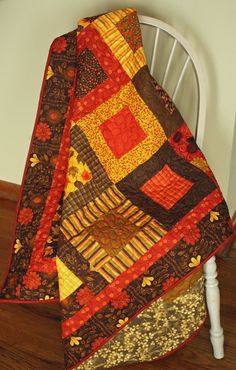 Phenomenal Fall Charmed Jelly Roll Lap by MulberryPatchQuilts, $144.00