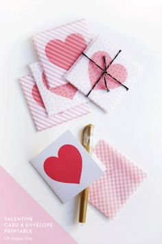 16 LAST MINUTE PRINTABLE VALENTINES – Oh Happy Day