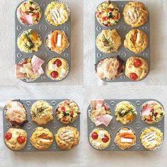 「おかずマフィン」でカフェ風ランチはいかが?お食事マフィンの作り方・人気レシピ
