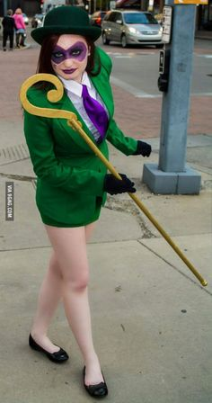 Riddle Me This? My Female Riddler for my Fellow 9gaggers.