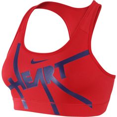 cc8ed85d69c41 Nike Pro Graphic Women s Sports Bra ( 19) ❤ liked on Polyvore featuring  activewear