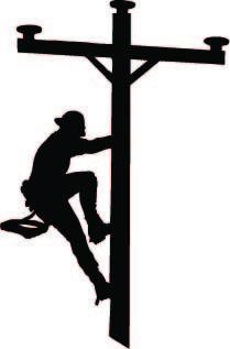 power lineman clip art yahoo image search results occupations rh pinterest com football lineman clipart free lineman clipart