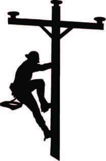 power lineman clip art yahoo image search results occupations rh pinterest com power lineman clipart offensive lineman clipart
