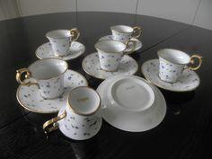 Service à thé Vieux Nyon - Services en porcelaine