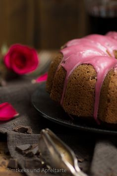 Heute mal klassisch: Omas Rotweinkuchen