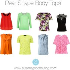 Pear body shape tops