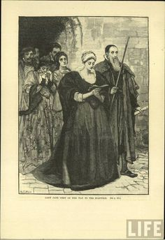 Giclee Print: Lady Jane Grey on Her Way to the Scaffold 1554 by Mary L. Uk History, Tudor History, Women In History, British History, Family History, Lady Jane Grey, Jane Gray, Adele, Tudor Dynasty