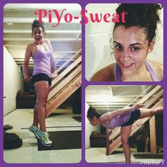 piyo sweat never lets me down for a good workout! The name of the workout holds true. I sweat each time and get an awesome calorie burn, in only 30 min. Great way to jump start my day.