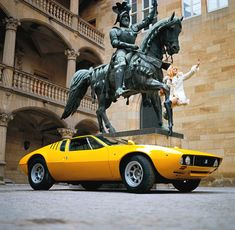 De Tomaso Mangusta, designed by Giugiaro, produced between 1967 and 1971