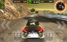 Rally Racer Dirt: captura de tela