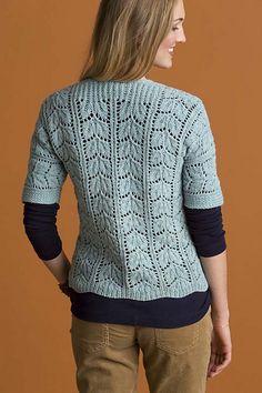 Ravelry: Enchanted Cardigan pattern by Kristen TenDyke