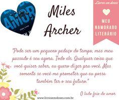 Meu namorado literário é Miles Archer!!! E o seu? #meunamoradoliterario #livrosemdoses #diadosnamorados