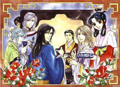 Anime-Zone. Аниме обои к The Story of Saiunkoku (первый сезон).