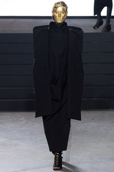 See the Rick Owens autumn/winter 2015 collection