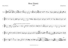 Partituras para Violino: My Heart Will Go On - Titanic
