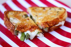 Pickled Asparagus Grilled Cheese Sandwich