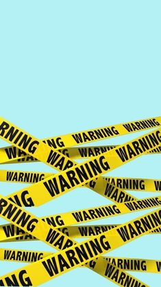 Warning - crime scene - wallpaper for your smartphone to keep certain some ones away