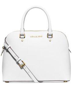 651404225453 MICHAEL Michael Kors Cindy Large Dome Satchel & Reviews - Handbags &  Accessories - Macy's