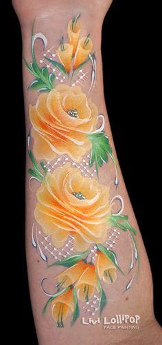 blog-orange-roses-copy #facepaintingbusiness