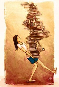 Viele Bücher geben Kraft...